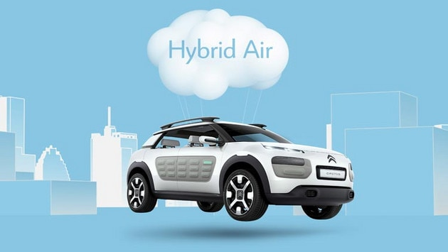 Citroën Cactus concept cars - User-friendly technologies