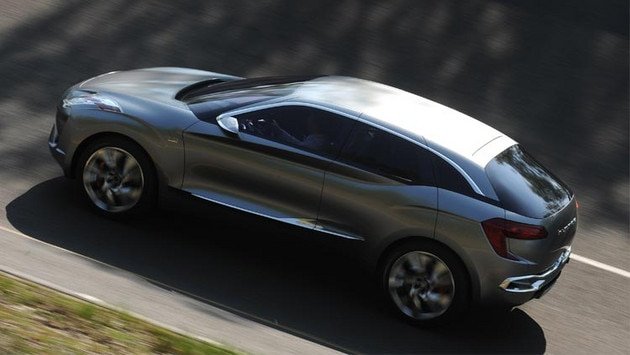 Citroën Hypnos concept car - Innovative, elegant body lines