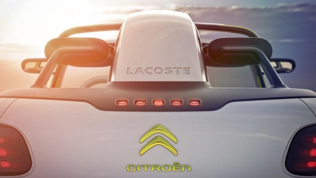 Citroën Lacoste concept car - Two names, one vision