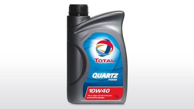 Citroën and Total, 45 years of partnership - TOTAL QUARTZ 7000 10W-40