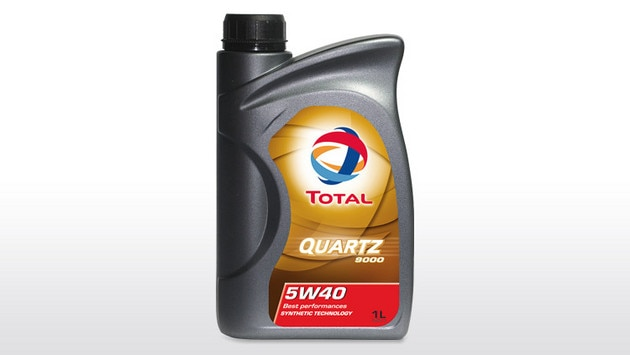 Citroën and Total, 45 years of partnership - TOTAL QUARTZ 9000 5W-40