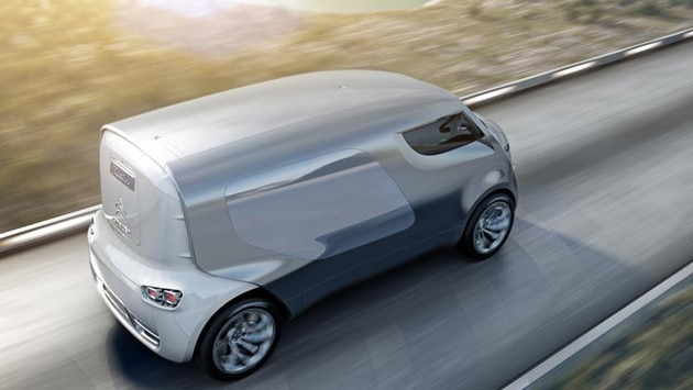 Citroën Tubik concept car - Hybrid4 technology