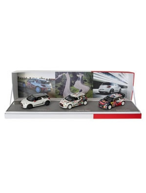 Citroën LifeStyle -  Citroën DS3 Racing set, DS3 R3 & DS3 WRC 2012 1/43