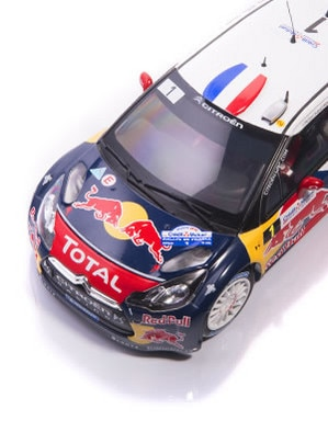 Citroën LifeStyle - Citroën DS3 WRC Loeb & Elena France 2012 1:18