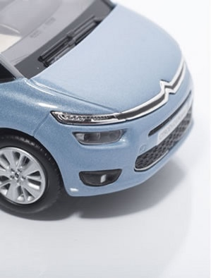 Citroën LifeStyle -  New Citroën Grand C4 Picasso Teles Blue 2013 1:43