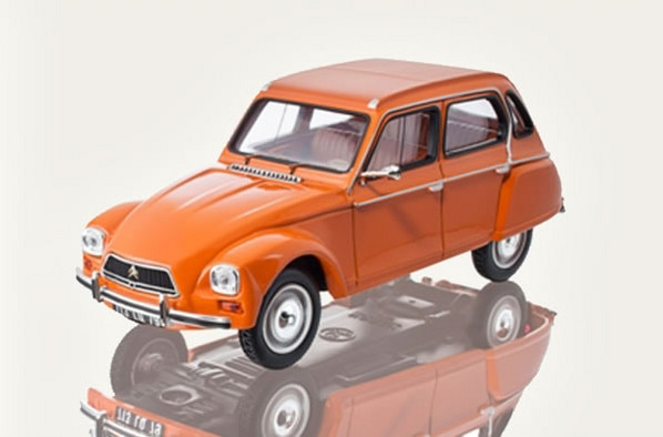 Citroën LifeStyle - Citroën Dyane Ténéré Orange 1974 1:43