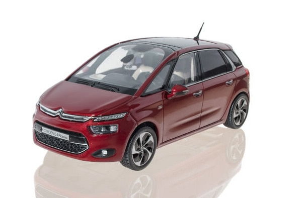 Citroën LifeStyle - New Citroën C4 Picasso Rubis Red 2013 1:43